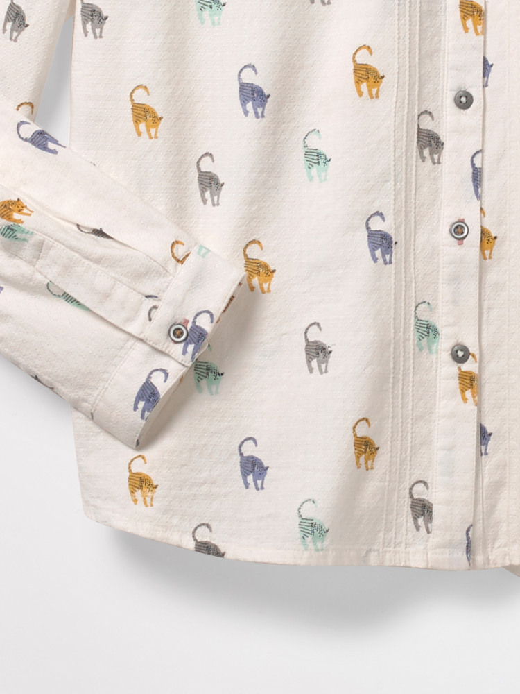 Kitty Conversational Shirt