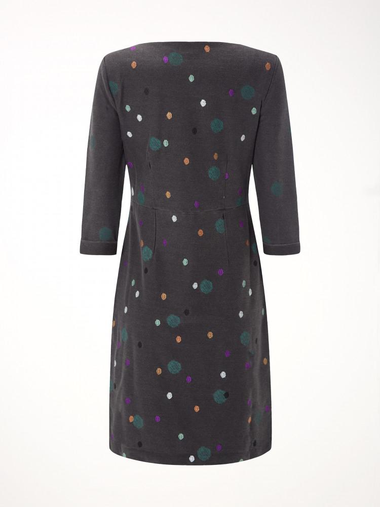 Rye Denim Spot Dress