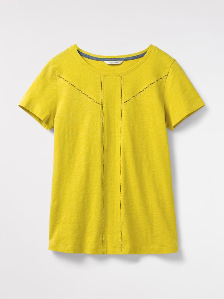 032eb0dd3b Amelie Jersey Tee (Banana Yellow Plain)