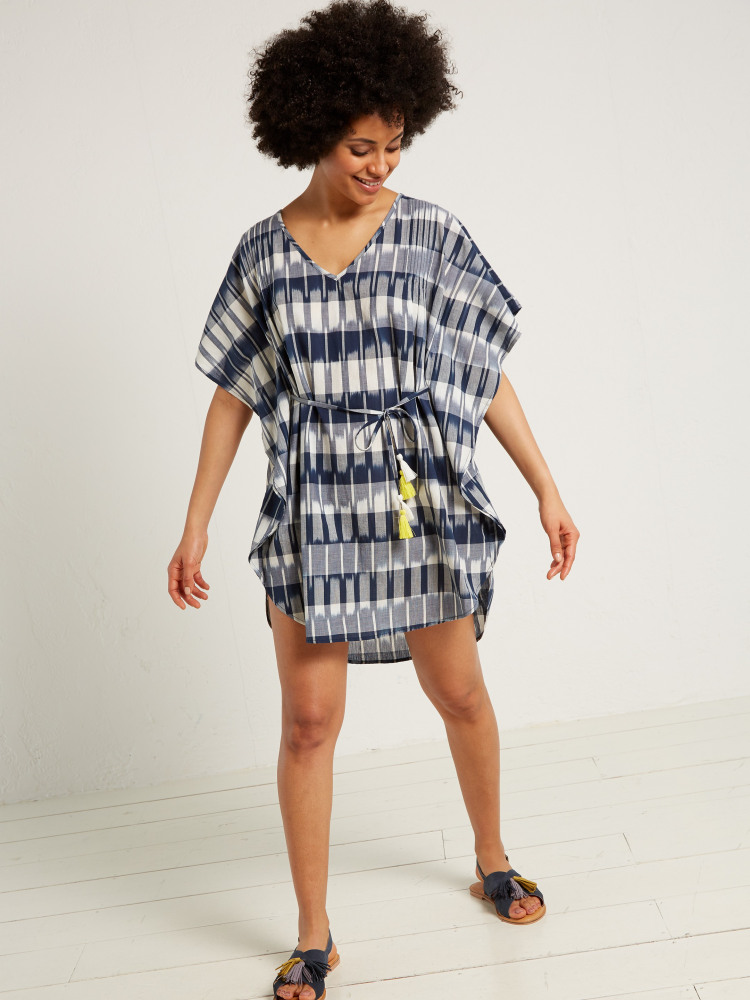 Ikat Days Beach Kaftan
