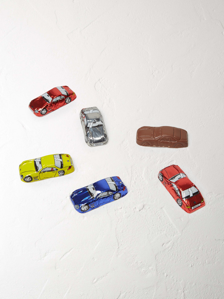 Chocolate Cars Stick Pack X 6