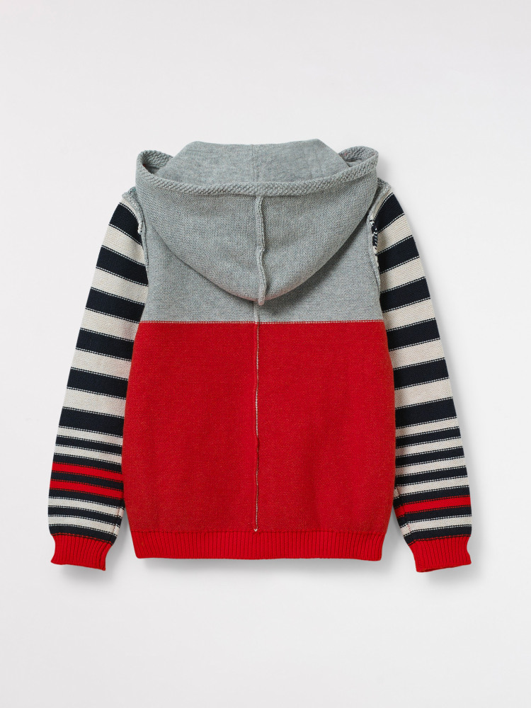 Hide & Seek Knit Zipthru Hoody