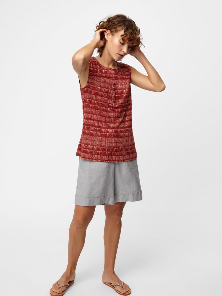 Susannah Linen Jersey Shirt