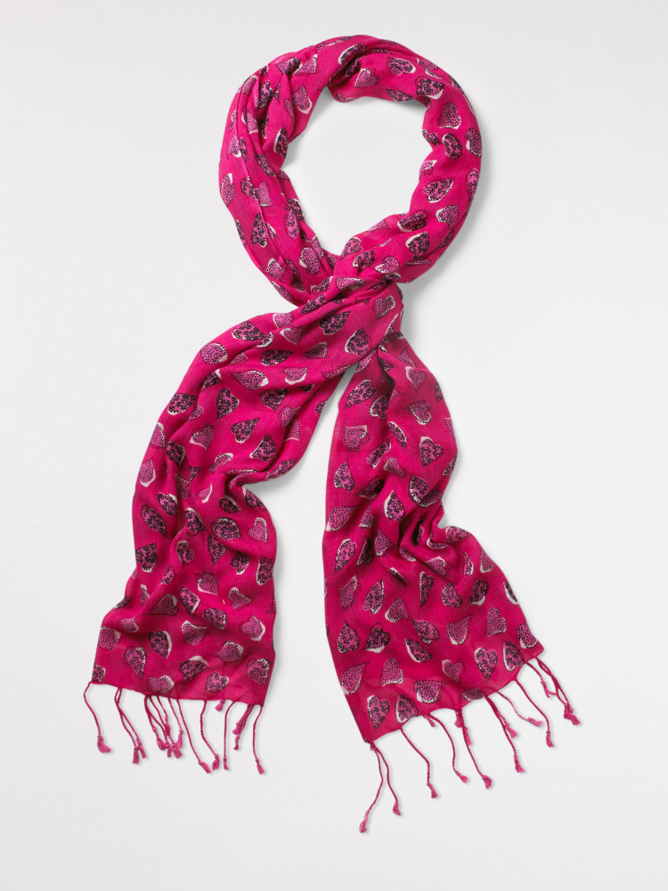 Strawberry Heart Scarf