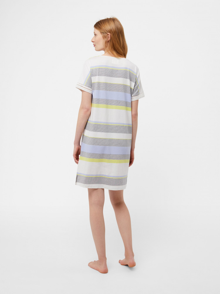 Sally Stripe Jersey Nightie