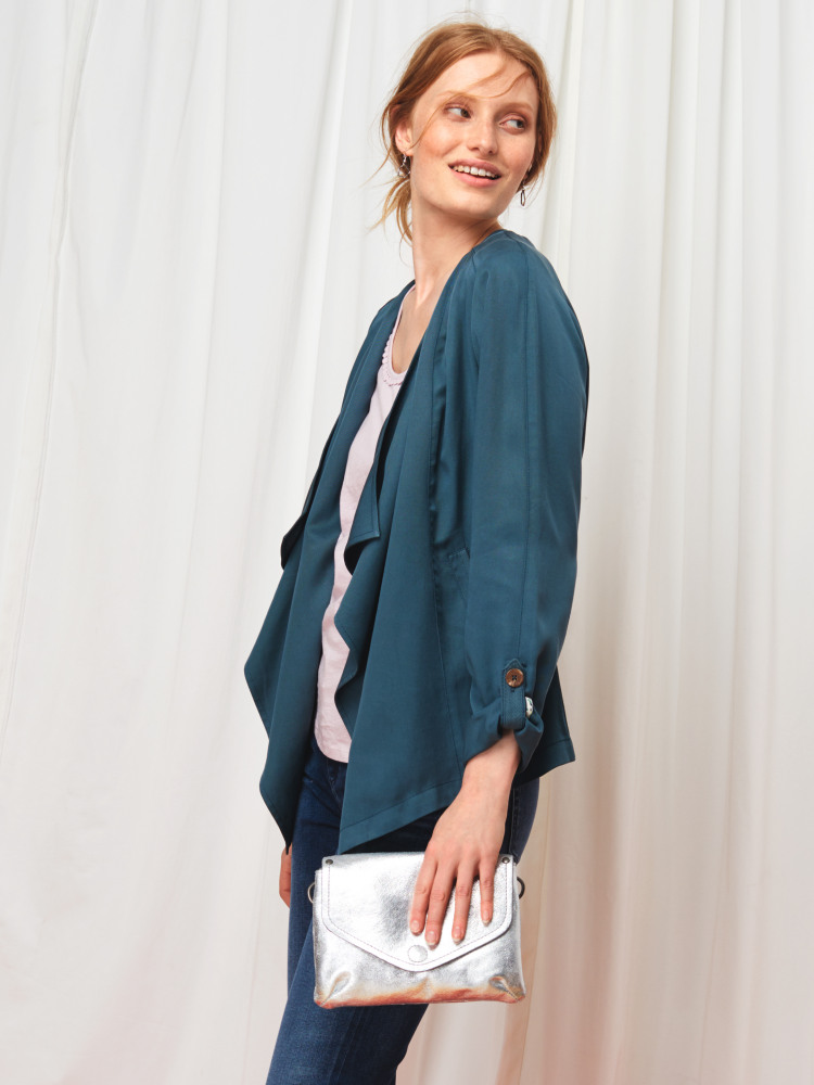 Tencel Waterfall Jacket
