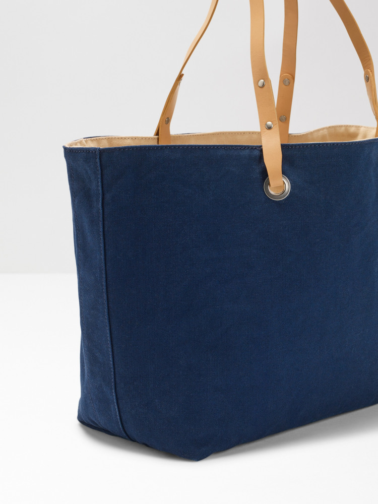 Morgan Reversible Canvas Tote