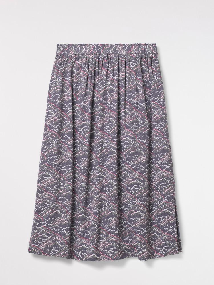 Claudine Print Skirt