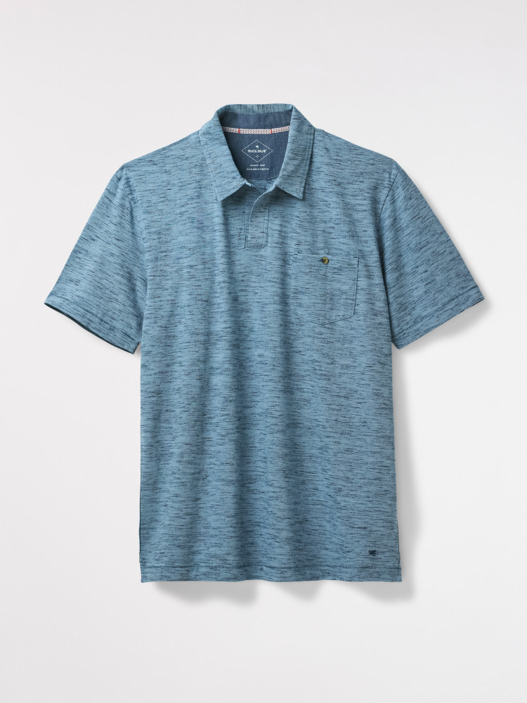Bolinas Notch Collar Polo