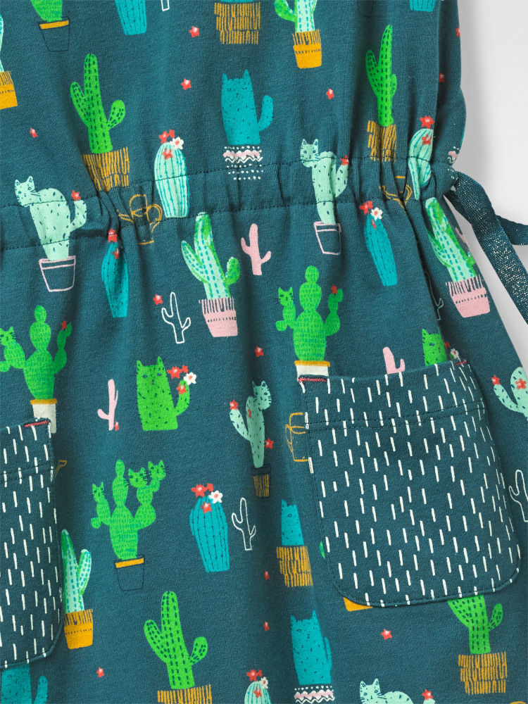 Prickly Jersey Dress