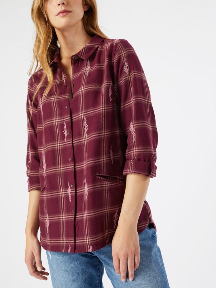 Lowen Emb Check Shirt