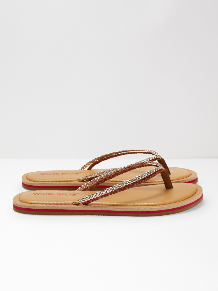 Fliss Leather Flip Flop