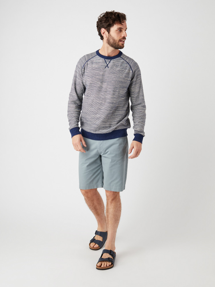 Surf Stripe Crew Knit
