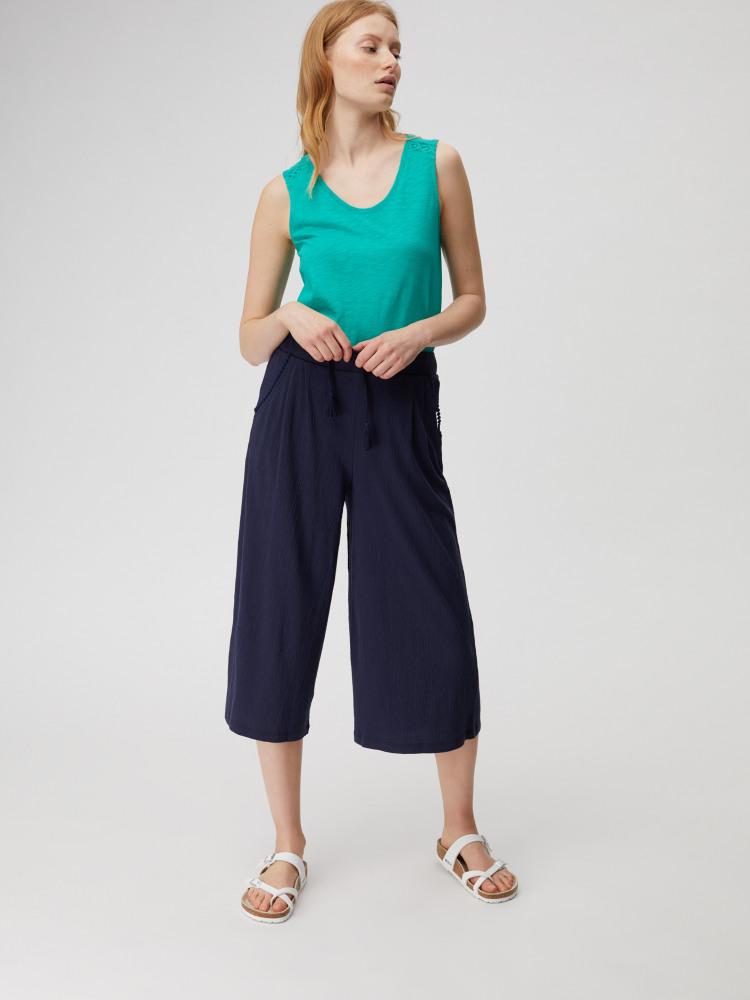 Clea Crinkle Wide Leg