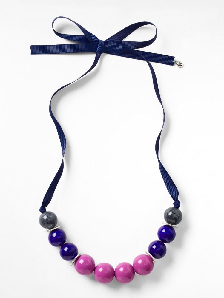 Colourblock Ceramic Necklace