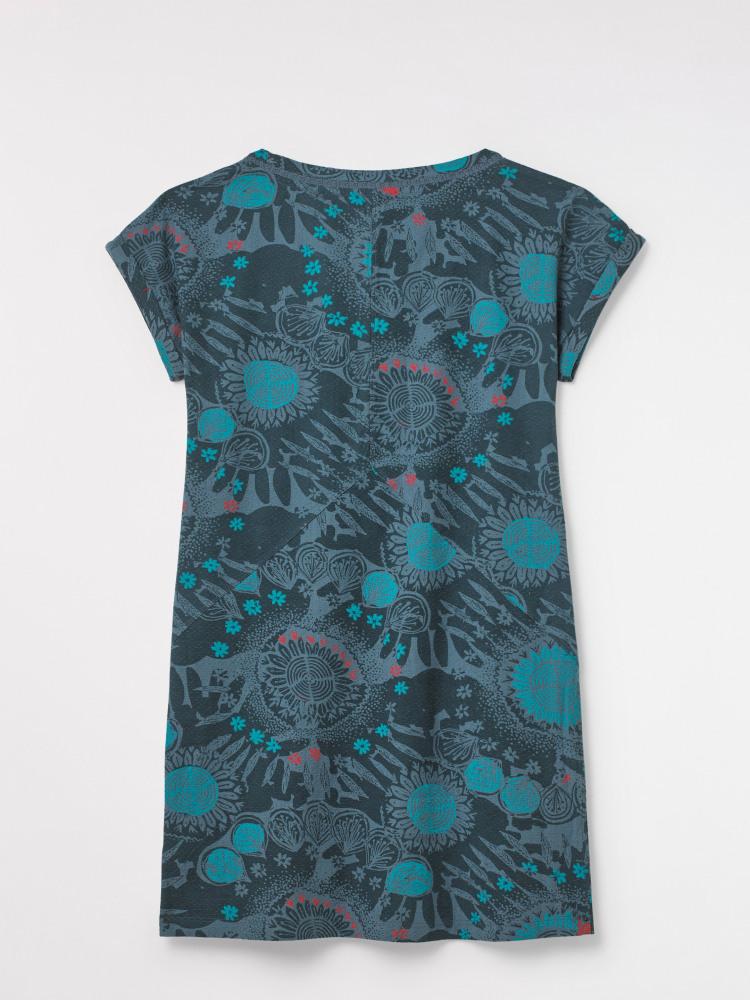 Hula Textured Jersey Tunic Top