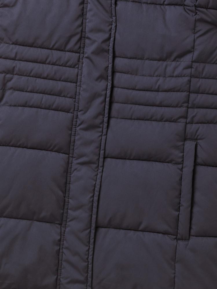 e78caef2cb2 Thirlmere Long Padded Coat (Navy) | White Stuff