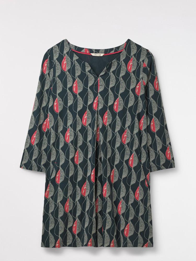 e0a65912ae3f Refreshing Jersey Tunic (Glen Green Print)