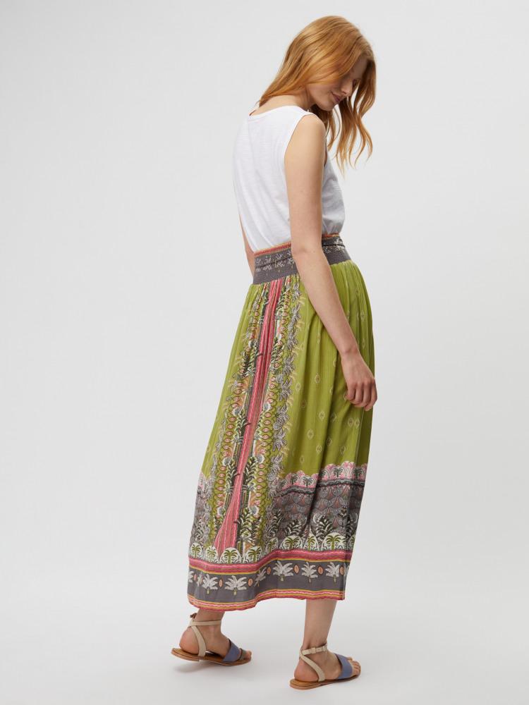 Ariel Crinkle Maxi Skirt