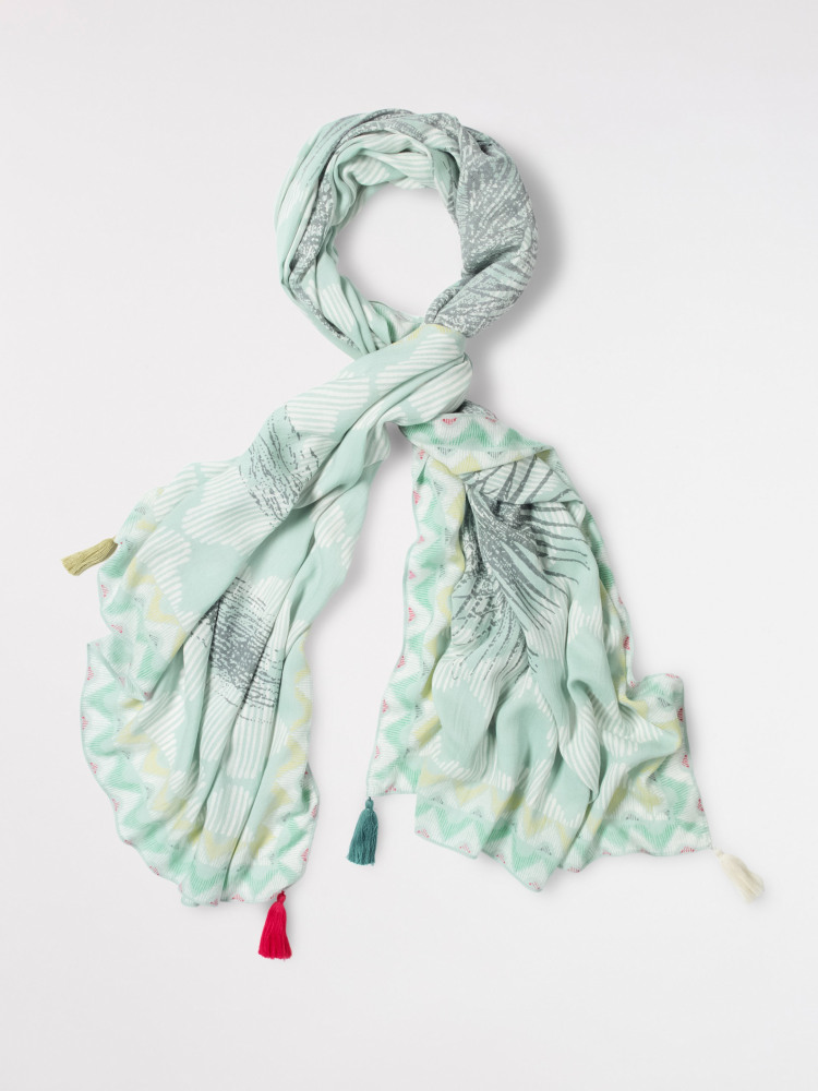 Palm Tree Scarf