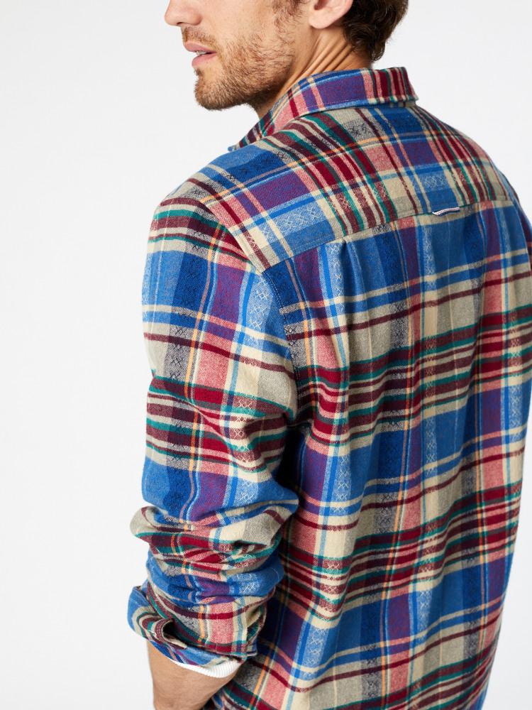 Couloir Jaqcuard Check Shirt