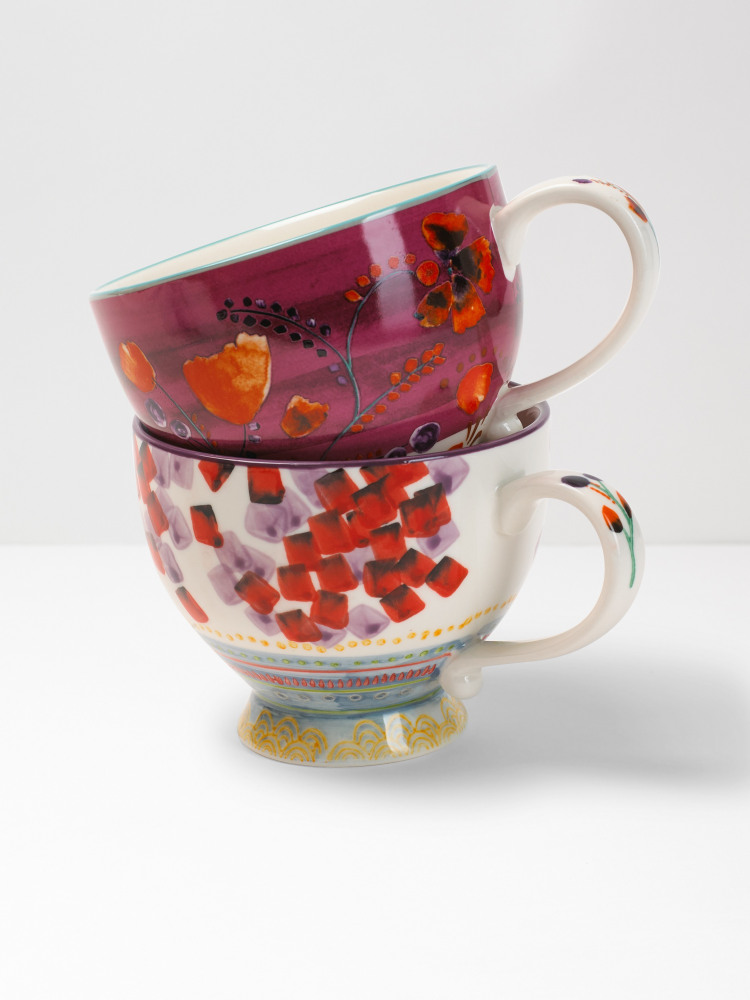 Berry Splash Decorative Mug