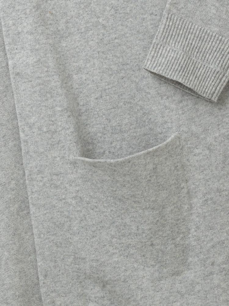 975f4294741 Papyrus Longline Cardi (Silver Grey) | White Stuff