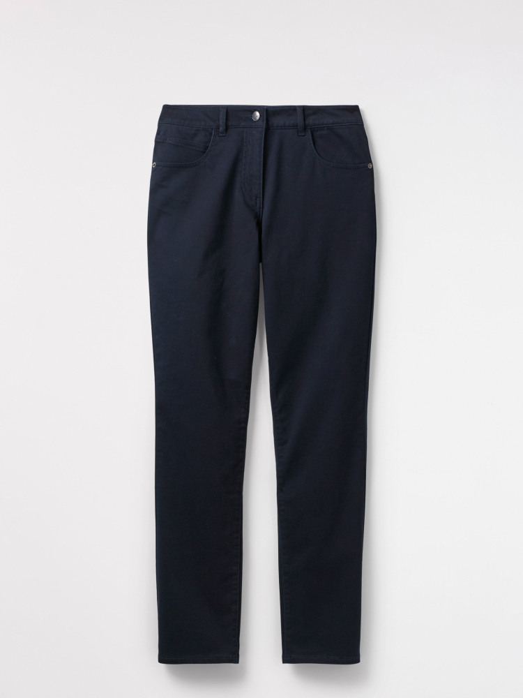 Oak Peached Slim Trouser