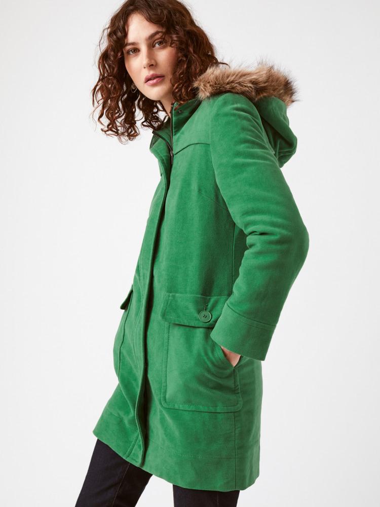 Wharfe Moleskin Coat