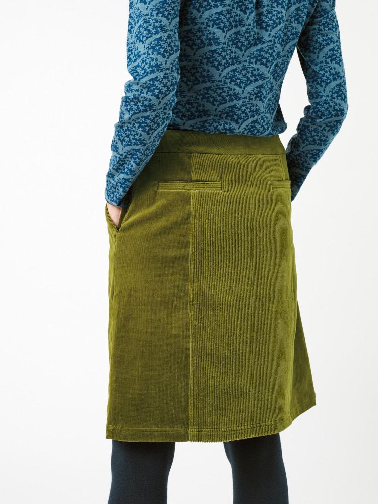 Oak Cord Skirt