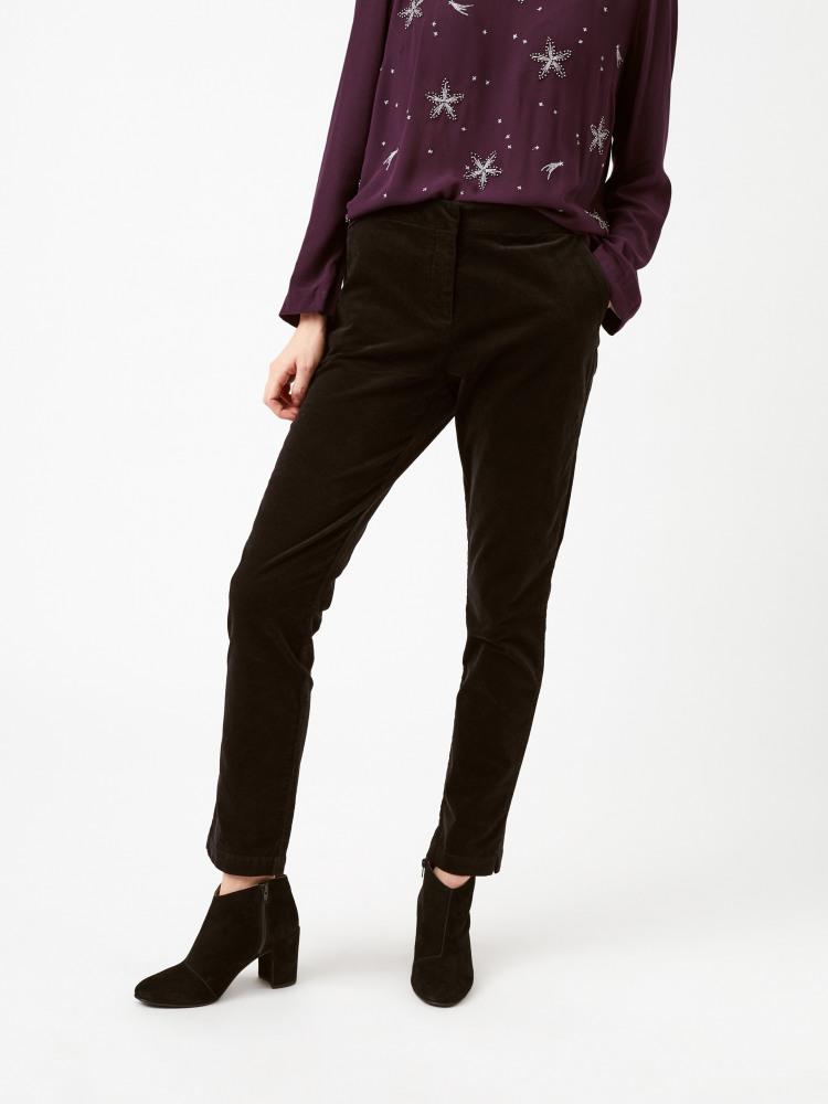 Clean Velvet Trouser