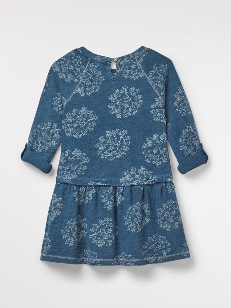 Fleur Floral Jersey Dress