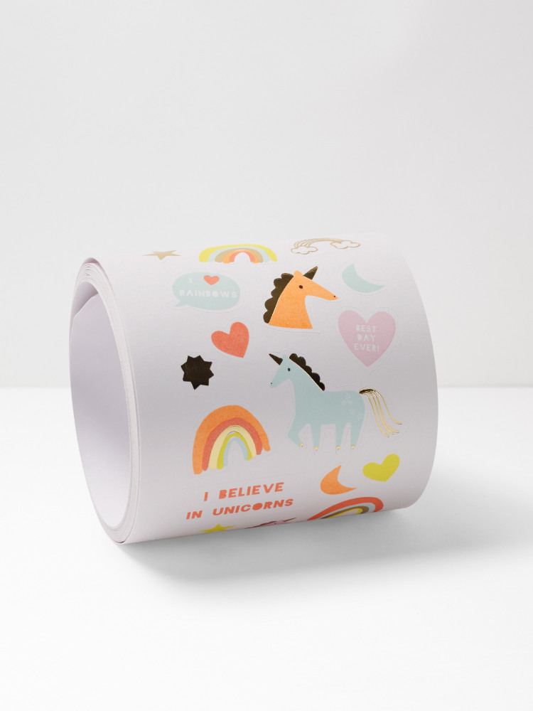 Mini Unicorn Sticker Roll
