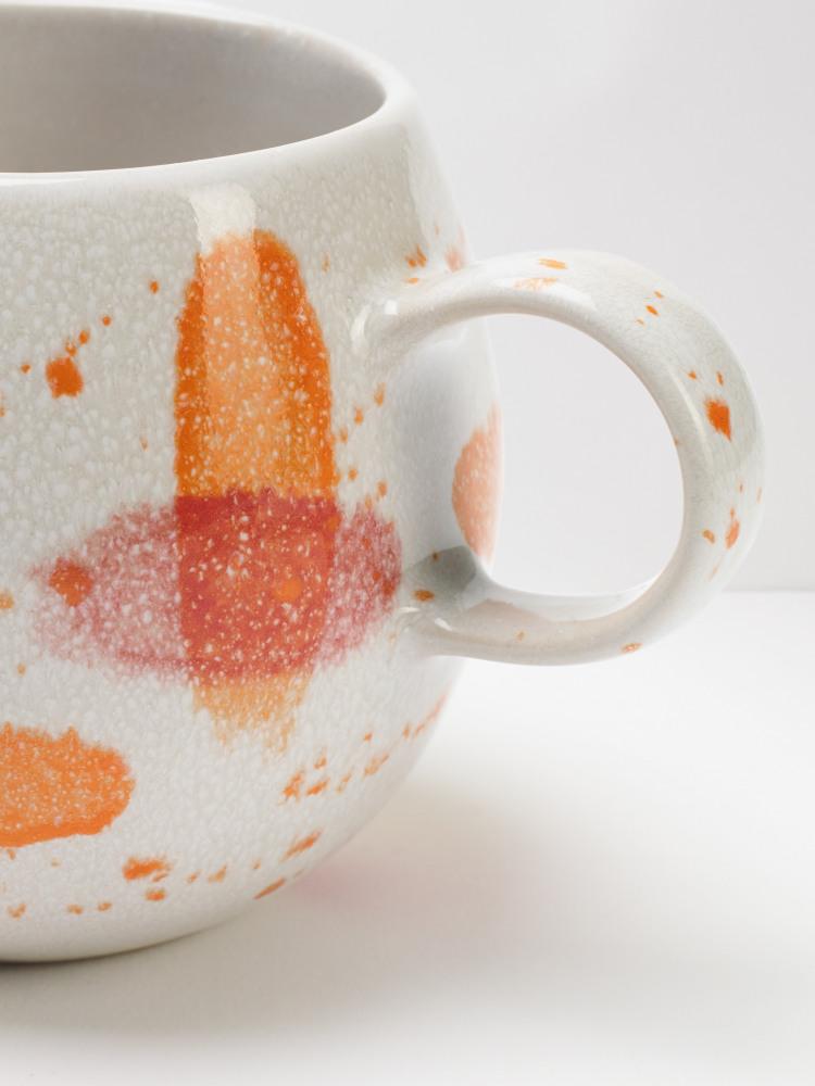 Orange Splish Mug