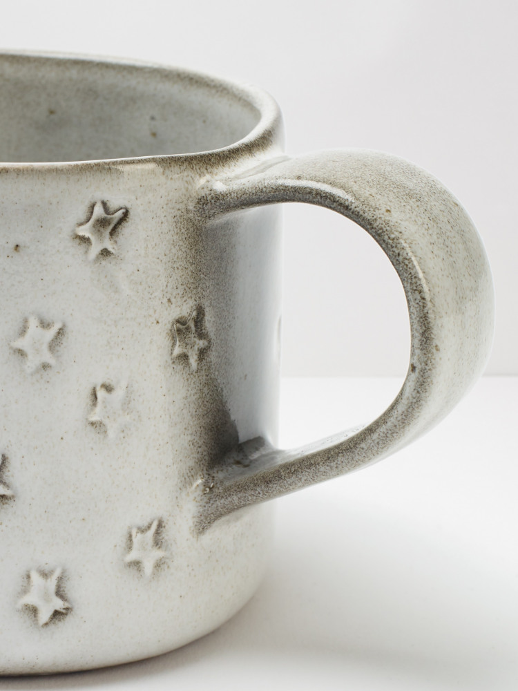 Star Debossed Mug