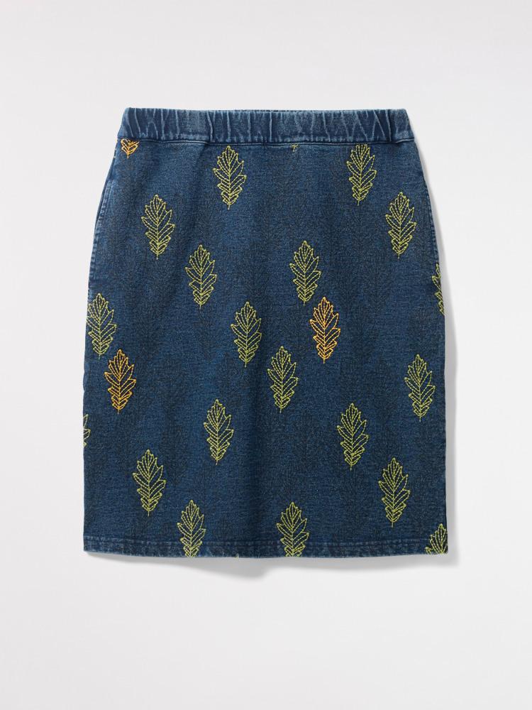 Truffle Jersey Skirt
