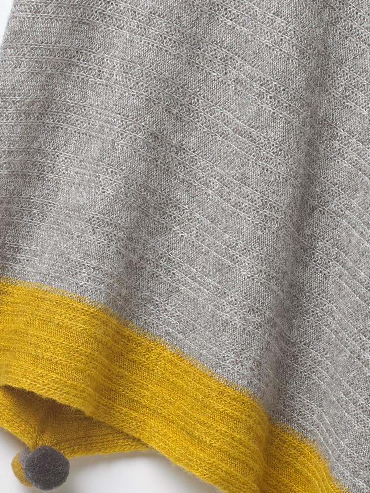 Rib Texture Poncho