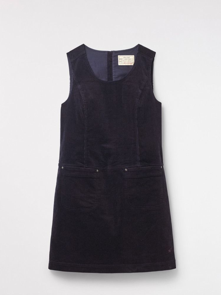 f28871458c2 Darcy Cord Dress (Navy Plain)