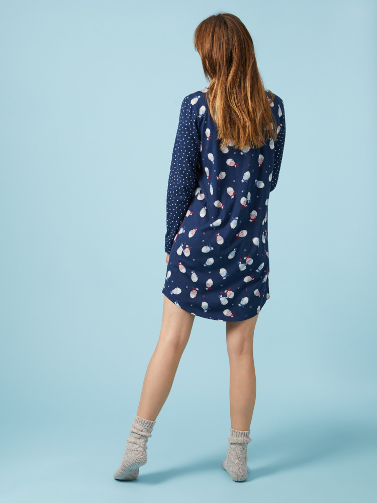 Penguin Jersey Nightie