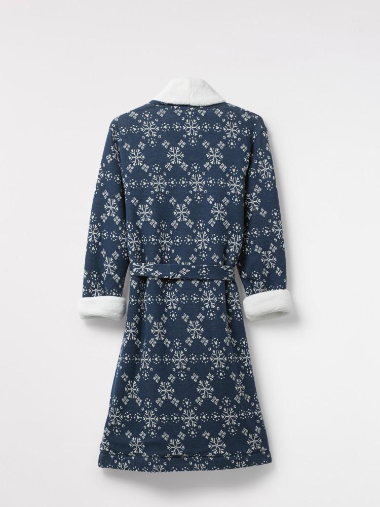 Starry Hearts Fluffy Robe