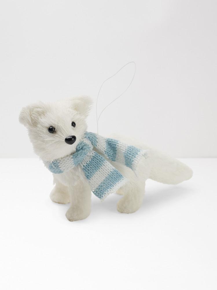 Alfie Bristle Fox Hanging Dec