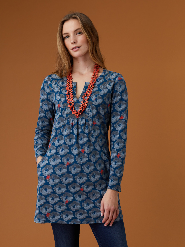 Forest Fern Jersey Tunic