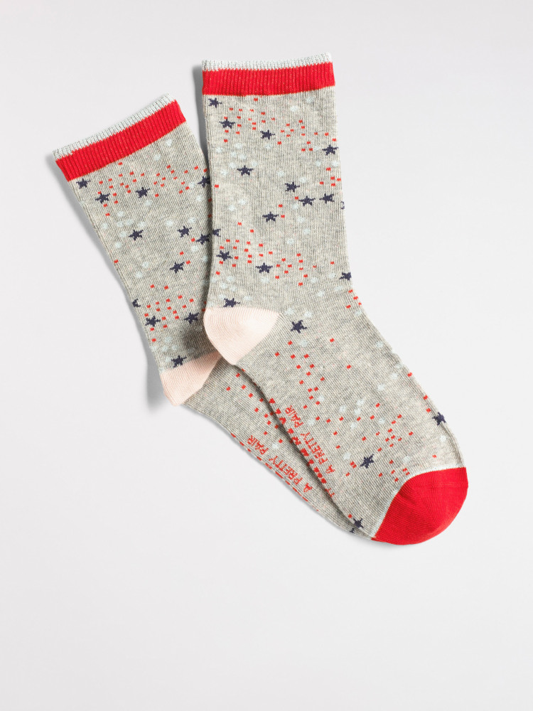 Spots & Stars Sock
