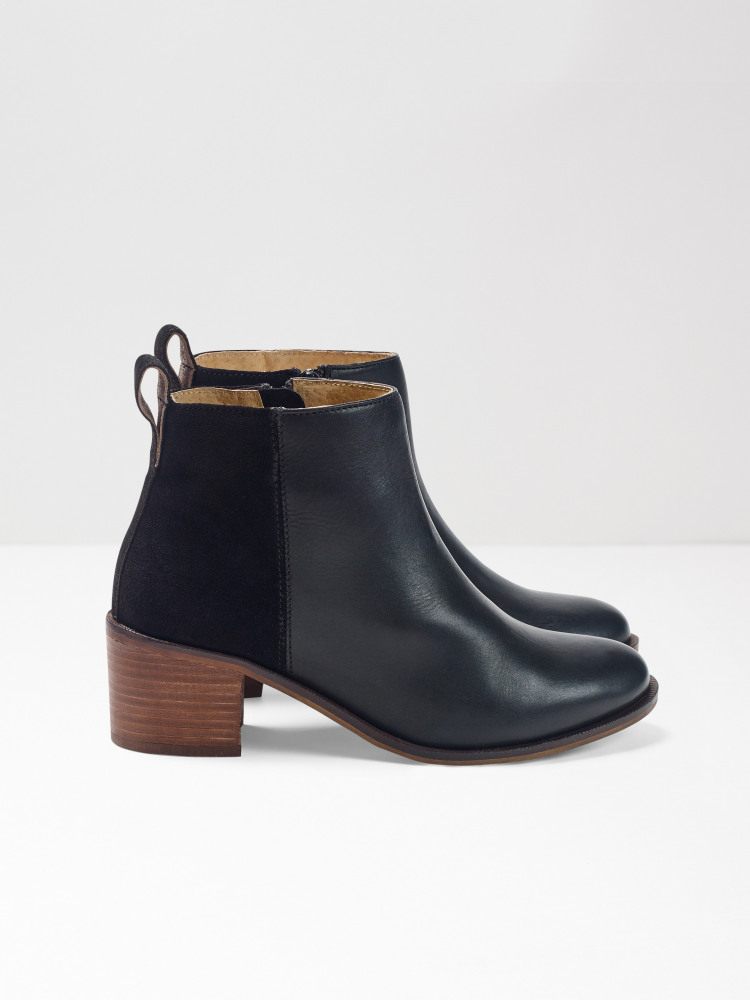 Ella Block Heeled Boot