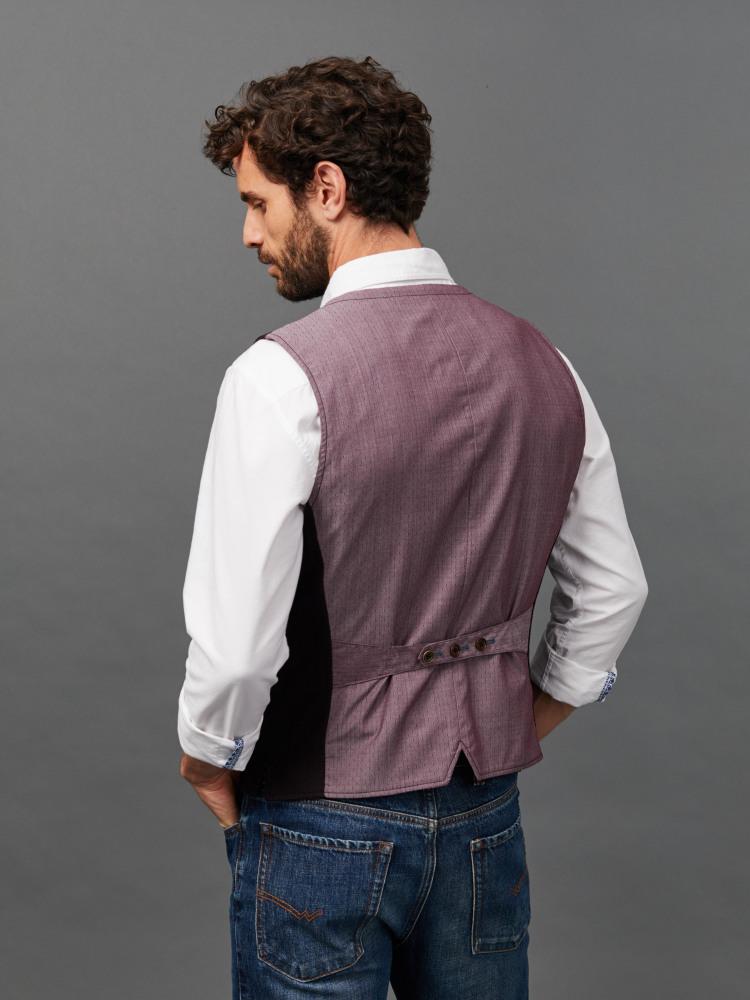 Hape Herringbone Waistcoat
