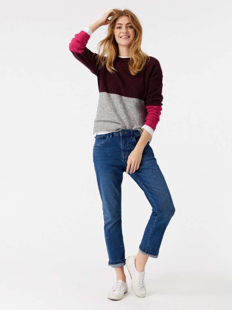 Monday Colourblock Jumper