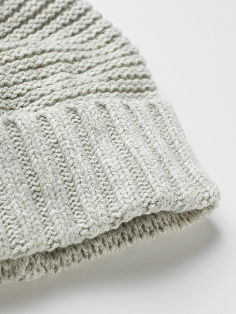 Bridget Plain Bobble Hat