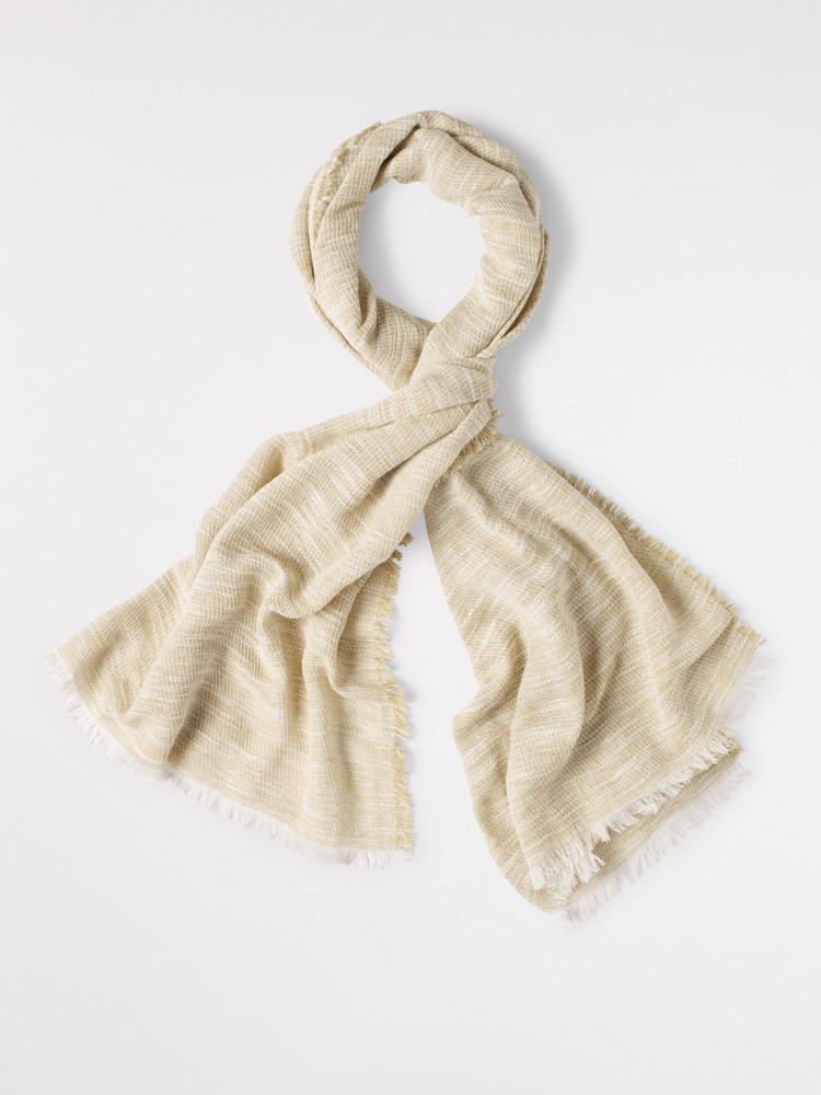 Woven Textured Plain Scarf