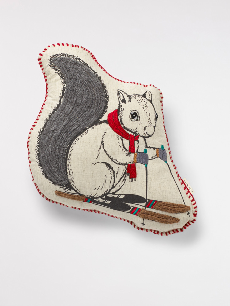 Cyril Squirrel Cushion