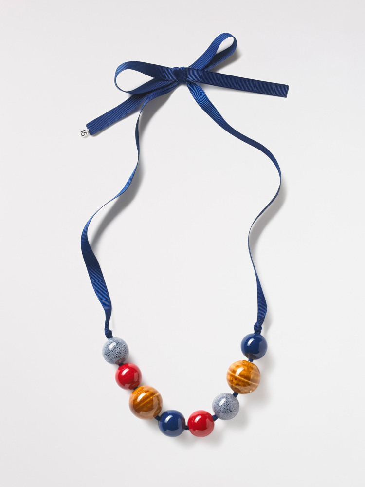 Mixed Ceramic Bead Necklace